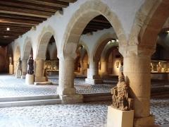 Ancien grenier connu sous le nom de Grange de Chèvremont - English: interior of Metz' museum.