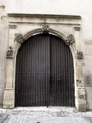 Immeuble - Français:   Immeuble, 20 rue de Chèvremont. Metz. 18ème siècle.