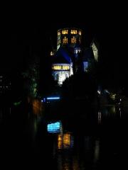 Temple protestant - Français:   Mise en lumière dans le cadre de la Nuit blanche 2010