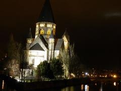 Temple protestant - Français:   Temple Neuf à Metz (Moselle, France).
