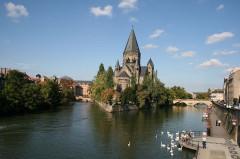 Temple protestant -  Temple Neuf, Metz