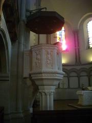 Temple protestant - Temple Neuf de Metz (Moselle, France); chaire