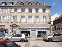 Immeuble - Français:   Phalsbourg (Moelle) Place d\'Armes 01 MH