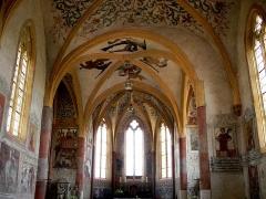 Eglise Saint-Martin -  Fresques (XV°-XVI°) de l'église de Sillegny en Moselle, Lorraine, FRANCE