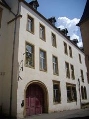 Hôtel d'Eltz - Deutsch: Eltzer Hof (Justizpalst) in Thionville (Moselle, France)