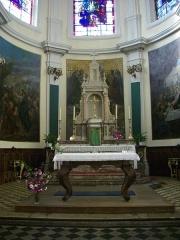 Eglise Saint-Simon et Saint-Jude - Français:   Église Saint-Simon-Saint-Jude de Metz (Moselle, France); autel
