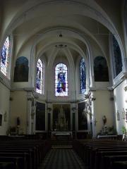 Eglise Saint-Simon et Saint-Jude - Français:   Église Saint-Simon-Saint-Jude de Metz (Moselle, France); intérieur
