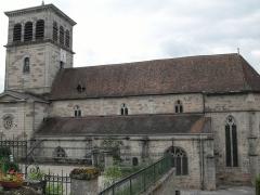 Eglise - Français:   L\'église Saint-Mansuy à Fontenoy-le-Château