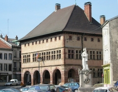 Hôtel de ville - Français:   L\'Hôtel de Ville de Rambervillers (Vosges)