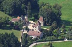 Château de Lichécourt et maison du verrier de Thysac - English: Castle of Lichecourt