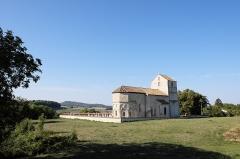 Eglise Saint-Rémy - Vue générale de l'église Saint-Rémy à Vicherey dans le département des Vosges.