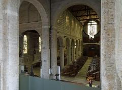 Eglise Saint-Jean-Baptiste - Nederlands: Bourbourg (département du Nord, Frankrijk): interieur van de Sint-Jan-de-Doperkerk