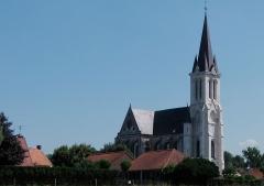 Eglise Saint-Pierre - Église Saint-Pierre de Bouvines, Nord, France