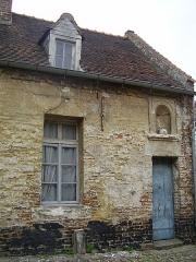 Béguinages Saint-Nicolas et Saint-Vaast - English: Saint-Vaast and Saint-Nicolas Beguinage in Cambrai (France). Main house.