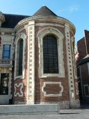 Ancien hôpital Saint-Julien, théâtre puis école de musique - Français:   Ancien hôpital Saint-Julien de Cambrai: la chapelle
