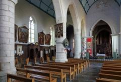 Collégiale Notre-Dame - Nederlands: Cassel (département du Nord, Frankrijk): interieur van de Onze-Lieve-Vrouwekerk (Collégiale Notre-Dame)