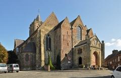 Collégiale Notre-Dame - Nederlands: Cassel (departement Nord, Frankrijk): de Onze-Lieve-Vrouwekerk (Collégiale Notre-Dame)