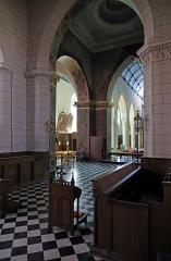 Collégiale Notre-Dame - Nederlands: Cassel (département du Nord, Frankrijk): binnenzicht van de Onze-Lieve-Vrouwekerk (Collégiale Notre-Dame)