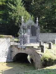 Château de l'Hermitage - Château de l'Hermitage, lieu de la fondation de la Compagnie des mines d'Anzin, Condé-sur-l'Escaut, Nord, Nord-Pas-de-Calais, France.