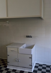 Villa Cavrois - English: A kitchen sink in the kitchen of the villa Cavrois in Croix, France.