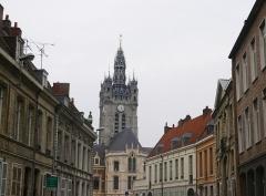 Hôtel de ville et beffroi - Douai - hôtel de Ville et beffroi