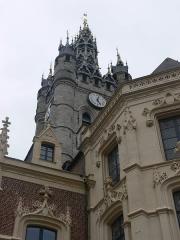 Hôtel de ville et beffroi - Français:   Douai - hôtel de Ville et beffroi