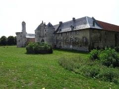 Château - Extérieur du Château d'Esnes, façade Nord