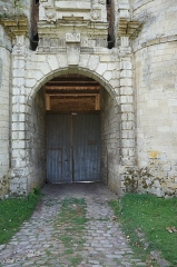 Château - Arc-brisé du Château d'Esnes