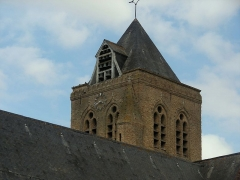 Eglise Saint-Folquin - This building is inscrit au titre des monuments historiques de la France. It is indexed in the base Mérimée, a database of architectural heritage maintained by the French Ministry of Culture,under the reference PA00107518 .