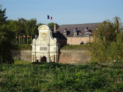 Citadelle de Lille -  Porte royale de la citadelle de Lille.  Hauts-de-France France.
