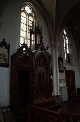 Eglise Saint-Denis-d'Hellemmes - confessionnal dans l'église Saint-Denis d'Hellemmes Lille