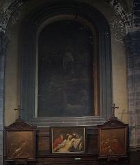 Eglise Saint-Etienne - Intérieur de l'église Saint-Étienne à  Lille (Nord, France),