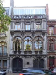 Hôtel Castiaux -  L'Hôtel Castiaux, 7 rue Desmazières, à Lille. Hauts-de-France France.