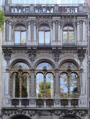 Hôtel Castiaux -  L'hôtel Castiaux, 7 rue Desmazières, à Lille, Hauts-de-France France.