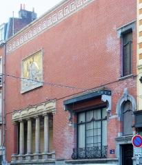 Immeuble, siège du Cercle Phylosophique et Culturel - Français:   Lille  (France - (département du Nord) – Immeuble, siège du Cercle Philosophique et Culturel