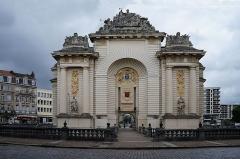 Porte de Paris - Français:   La Porte de Paris à Lille Nord (département français)