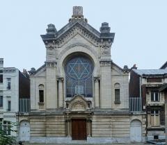 Synagogue - Français:    Synagogue  de, Lille Nord (département français)