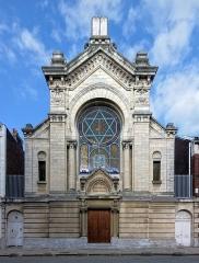 Synagogue - Français:   La synagogue de Lille, Nord.