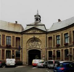 Ancienne abbaye - Français:   Mairie de  Marchiennes , Nord région   Hauts-de-France.