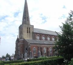 Eglise Saint-Denis - Français:   Église Saint-Denis de Noordpeene