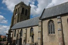 Eglise Saint-Sylvestre - Français:   Eglise Saint-Sylvestre à Rubrouck