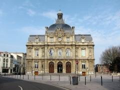 Hôtel de ville - Français:   L\'hôtel de ville de Tourcoing (Nord).