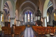 Eglise Saint-Gilles - English: Nef de L'église St Gilles