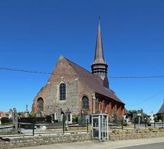 Eglise Saint-Martin - Nederlands: Wemaers-Cappel (département du Nord, Frankrijk): de Sint-Martinuskerk