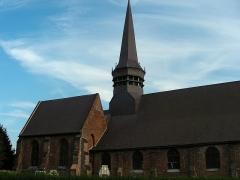 Eglise Saint-Martin - Français:   Église Saint-Martin de Wemaers-Cappel - Vue générale