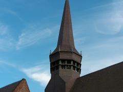 Eglise Saint-Martin - Français:   Église Saint-Martin de Wemaers-Cappel - Détail du clocher