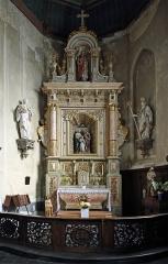 Eglise Saint-Martin - Nederlands: Wormhout (departement Nord, Frankrijk): interieur van de Sint-Martinuskerk