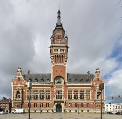 Hôtel de ville - Deutsch: Rathaus von Dünkirchen