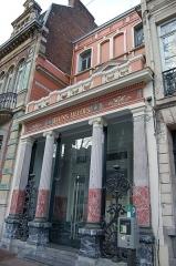 Immeuble dénommé Bains Lillois - Français:   Bains Lillois, 219 boulevard de la Liberté. Architecte Albert Baert