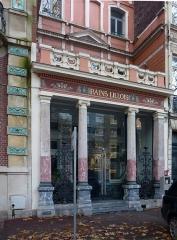 Immeuble dénommé Bains Lillois - Français:   les Bains Lillois Lille Nord (département français)